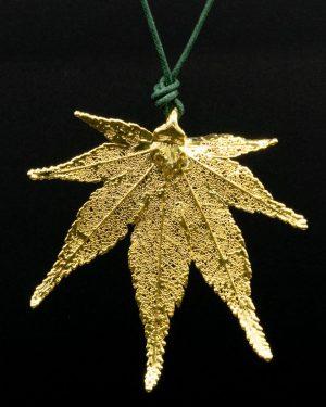 Ciondolo Acero Giapponese Oro Giallo