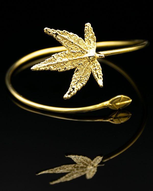 Bracciale Acero Giapponese Oro Giallo